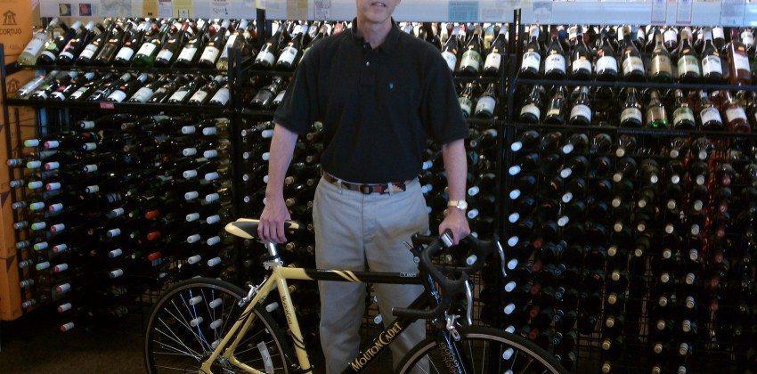 Mouton Cadet Bicycle Raffle Winner
