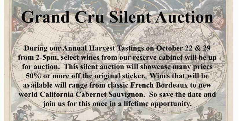 Grand Cru Silent Auction