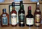 Irish Whiskeys for the Connoisseur March 16, 5-7pm