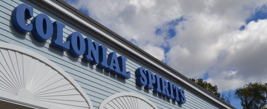 Colonial Spirits Sign