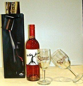 Wine Gift Bag - Left