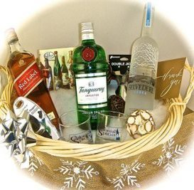 The Cocktail Classic Gift Basket