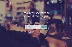 Drync App Homepage