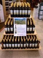 La Val Albarino White Wine Display