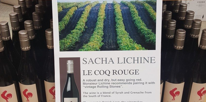 On Sale at Colonial Spirits – Le Coq Rouge Red Wine from France