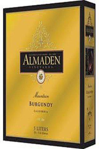 Almaden Mountain Burgundy 5 Liter