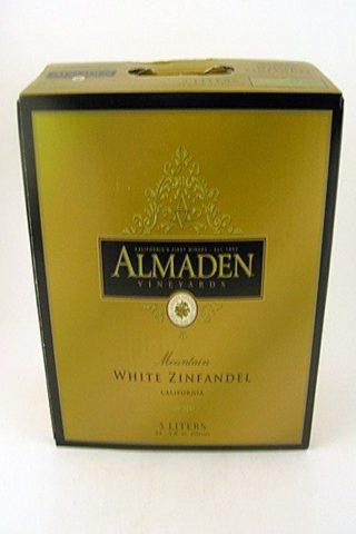 Almaden White Zinfandel 5 Liter