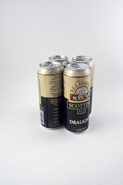 Belhaven Scottish Ale – 4, 16 oz  cans