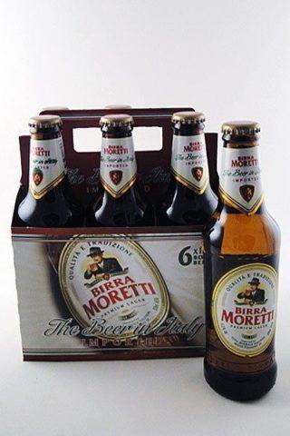 Birra Moretti - 6 pack
