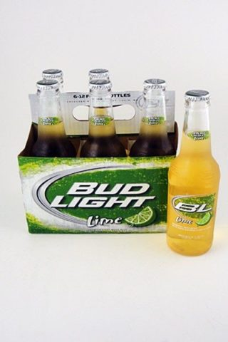 Budweiser Light Lime - 6 pack