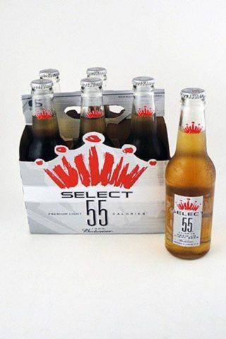 Budweiser Select 55 - 6 pack