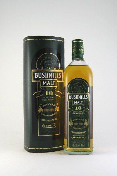 Bushmill's Irish Whiskey 10yr - 750ml