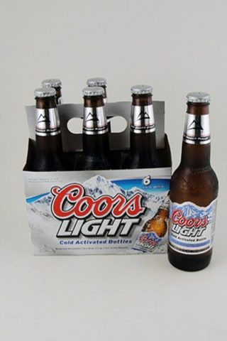Coors Light - 6 pack