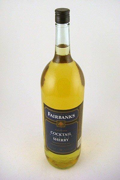 Fairbanks pale dry cocktail sherry 1 5l colonial spirits for Cocktail 5l