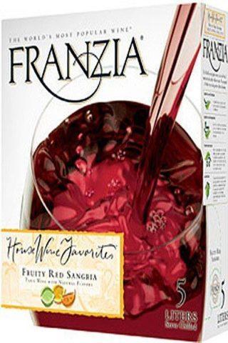 Franzia Fruity Red Sangria 5 Liter
