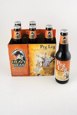 Heavy Seas Peg Leg Imperial Stout - 6 pack