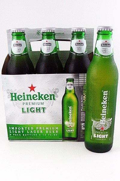 Heineken Light   6 Pack