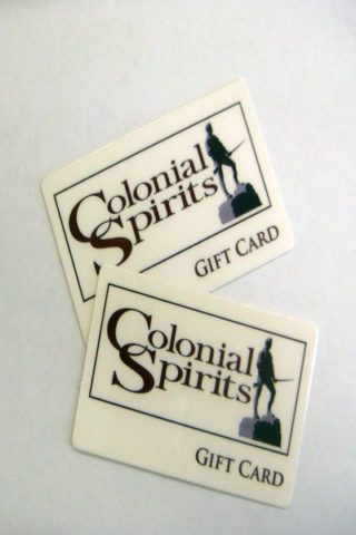 Colonial Spirits Gift Card