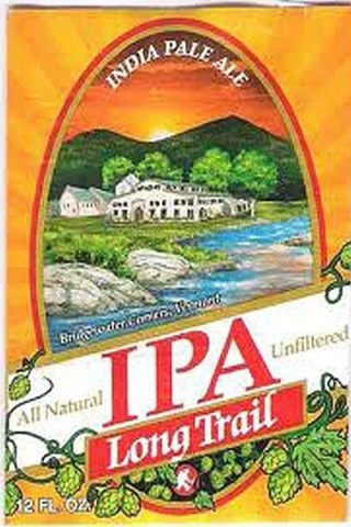 Long Trail IPA - 12 pack