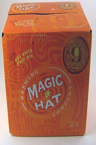 """Magic Hat #9 """"not quite pale ale"""" - 12 pack"""