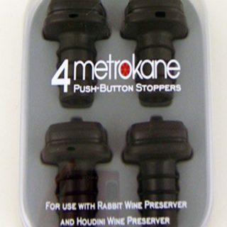 Metrokane: 4 Push Button Stoppers
