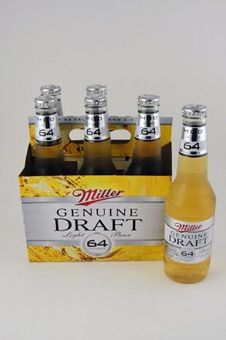 Miller Genuine Draft 64 Light - 6 pack