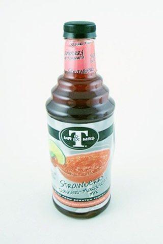 Mr. and Mrs. T Strawberry Daiquiri-Margarita Mix - 1L