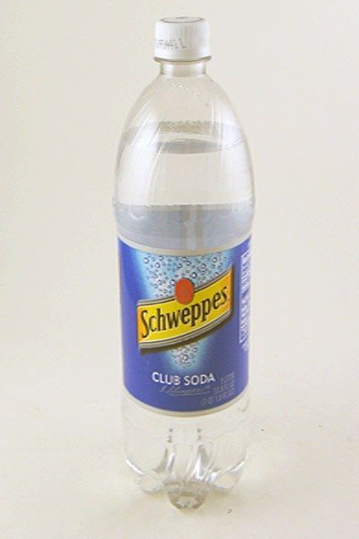 Schweppes Club Soda - 1 Liter