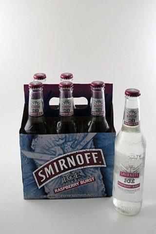 Smirnoff Ice Raspberry Burst - 6 pack