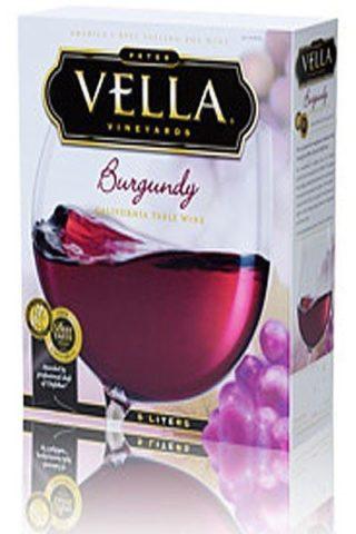 Vella Burgundy 5 Liter