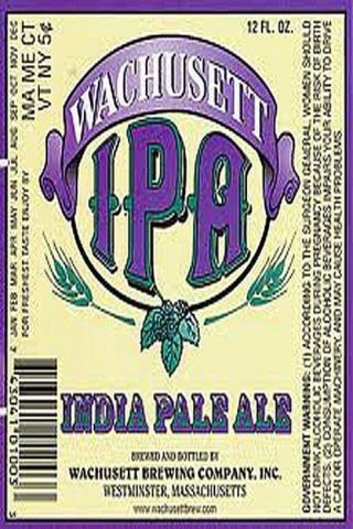 Wachusett India Pale Ale - 12 pack