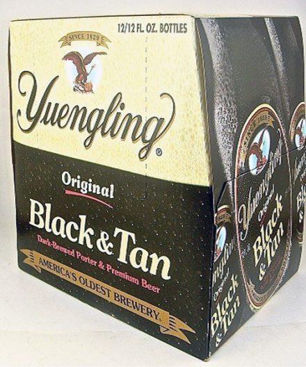 Yuengling Black & Tan - 12 pack