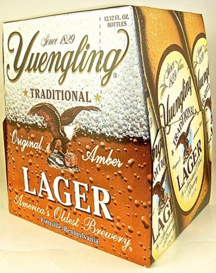 Yuengling Lager - 12 pack