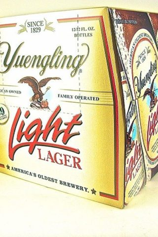 Yuengling Light Lager - 12 pack