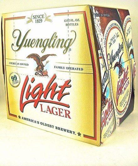 Yuengling Light Lager - 12 pack