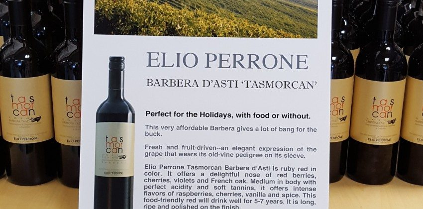 Elio Perrone Tasmorcan Red Wine – On Sale at Colonial Spirits
