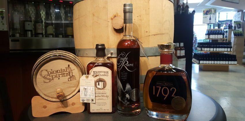 Colonial Spirits' Hand-Picked Single Barrel Bourbon(s)