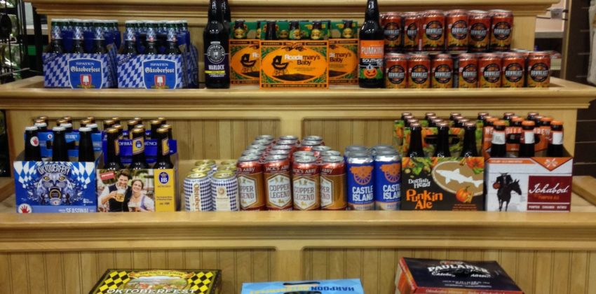 Fall Beer at Colonial Spirits, Your Local Liquor Store!