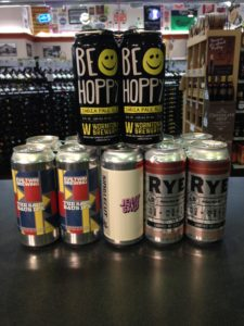 A nice selection of hoppy offerings that are either new or are new batches.