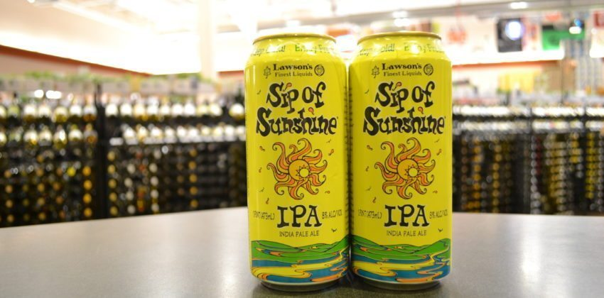 Lawson's Sip of Sunshine is Here!
