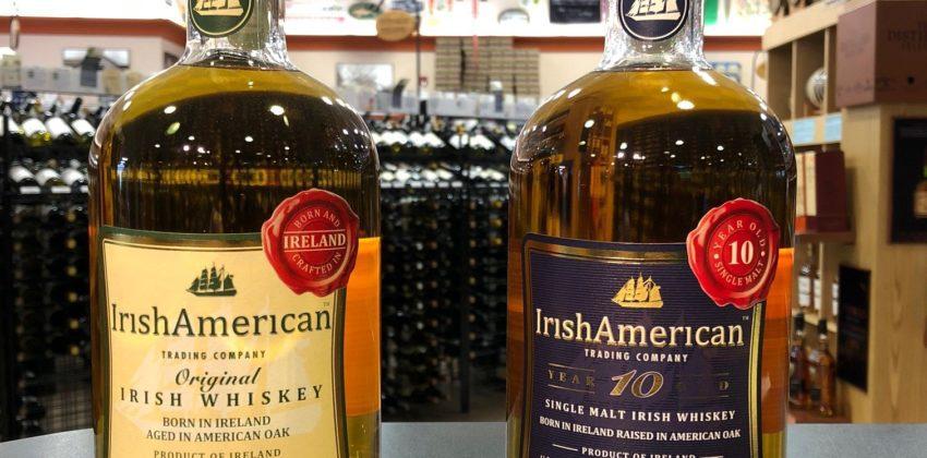 Irish Whiskey Tasting with Irish American at Colonial Spirits Next Week!